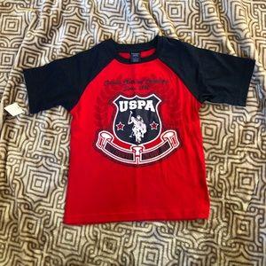 Boys NWT U.S. Polo Assn. T-shirt